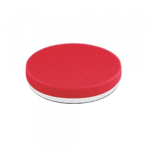 Мягкий поролоновый полировальный диск FLEX 135 мм красного цвета