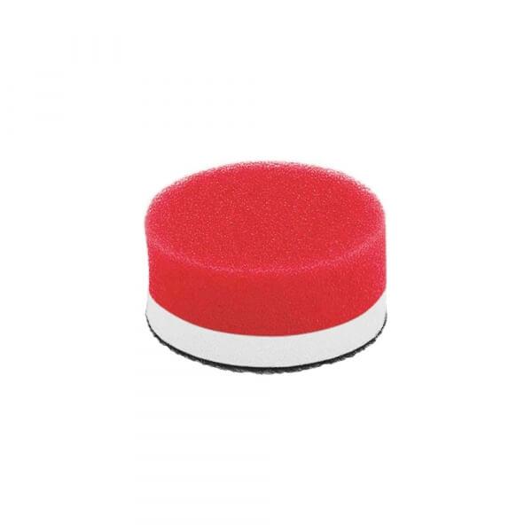 Мягкий поролоновый полировальный диск FLEX 40 мм красный