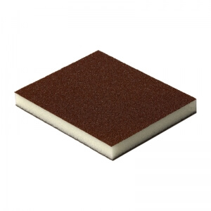 Шлифовальные губки FLEXIFOAM SOFT PAD RED 120 x 98 x 13 мм