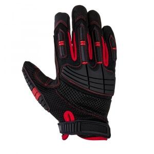 Антивибрационные перчатки JETA SAFETY JAV02, размер L (черные)