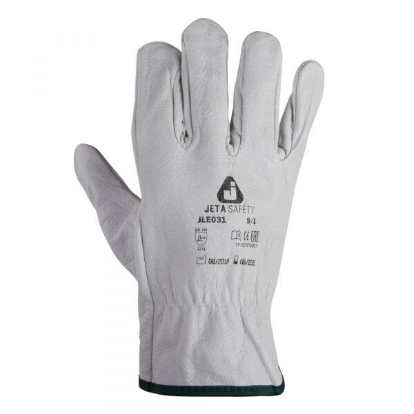 Монтажные перчатки из кожи буйвола JETA SAFETY JLE031