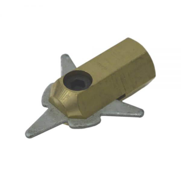 Адаптер для приварки треугольных шайб Wiederkraft F013