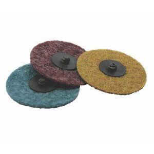 Быстросъёмные диски из нетканого волокна NORTON BEARTEX SPEED-LOK TR 50 мм