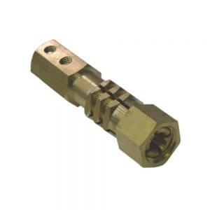 Цанговый держатель электродов Wiederkraft F012