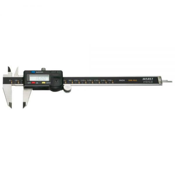 Цифровой штангенциркуль HAZET 2154N-20