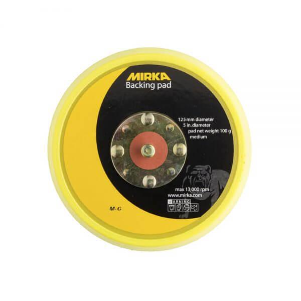 Диск-подошва средней жесткости MIRKA 125 мм, без отверстий