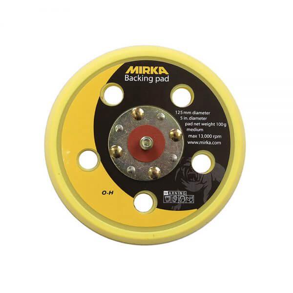 Диск-подошва средней жесткости MIRKA 125 мм, 5 отверстий