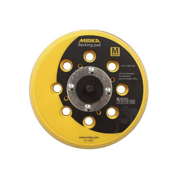 Диск-подошва средней жесткости MIRKA 125 мм, 28 отв. 12.5 см