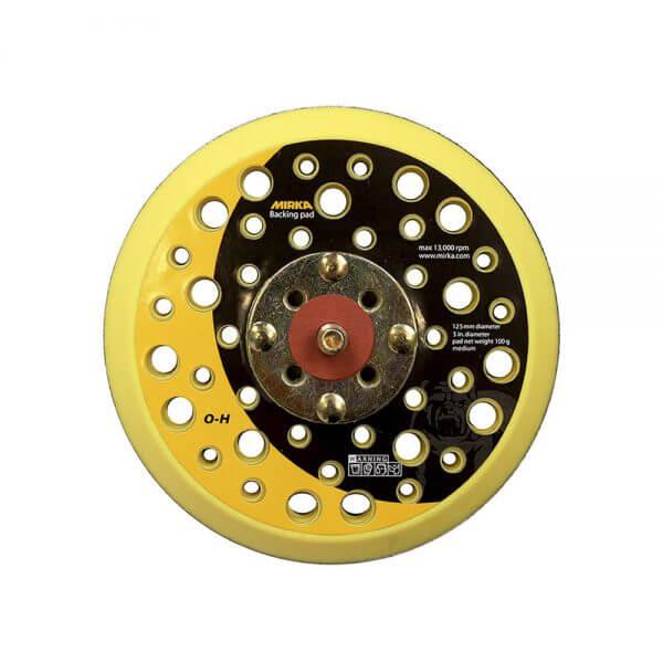 Диск-подошва средней жесткости MIRKA 125 мм, 44 отв.
