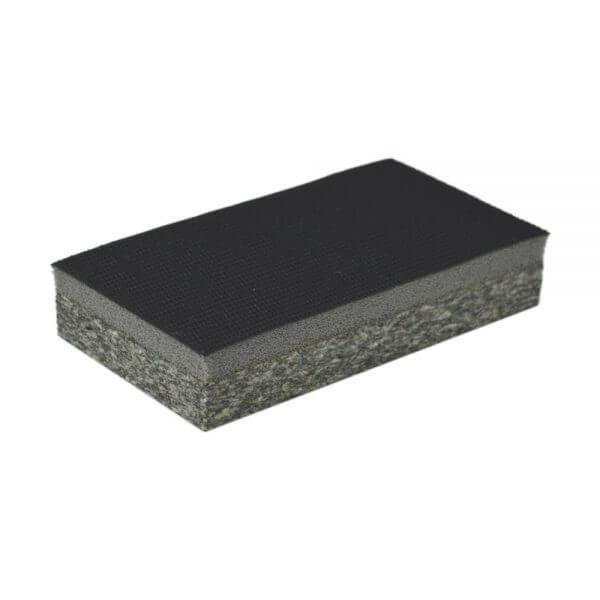 Двусторонний ручной шлифовальный блок WDK-431002 70 x 125 мм