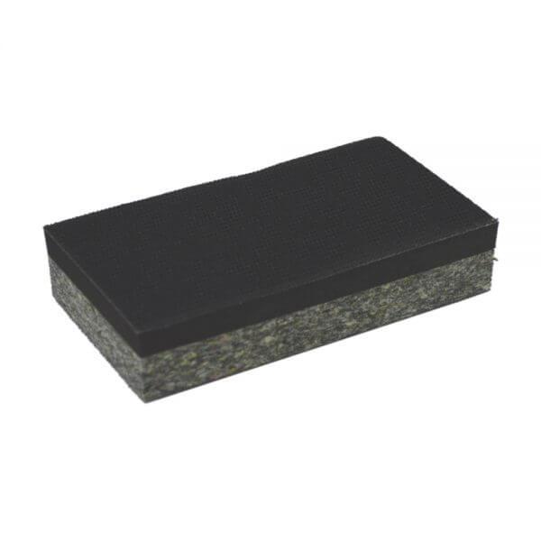 Двусторонний ручной шлифовальный блок WDK-431003 70 x 125 мм