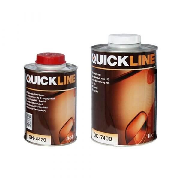 Комплект лака Quickline HS QC-7400 (1 л) + отвердитель QH-4420 (0,5 л)