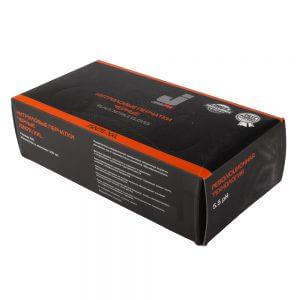 Коробка нитриловых черных перчаток JETA SAFETY JSN7 (100 шт.)