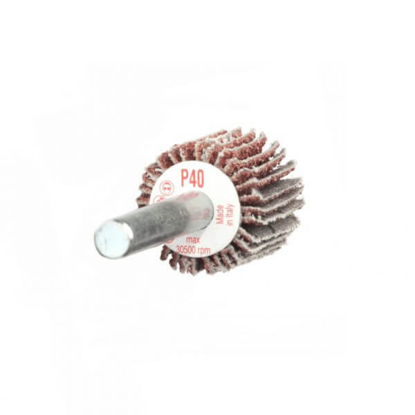 Круг лепестковый с оправкой Bibielle RG0133 20 x 20 x 6 мм, P40