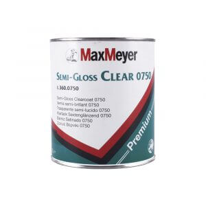 Лак полуматовый MaxMeyer SEMI-GLOSS CLEAR 0750 (1 л)