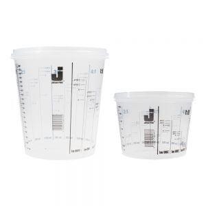 Мерные емкости JETA PRO из пластика