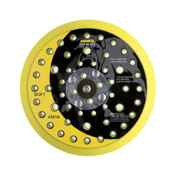 Мягкая диск-подошва MIRKA 150 мм, 52 отв.