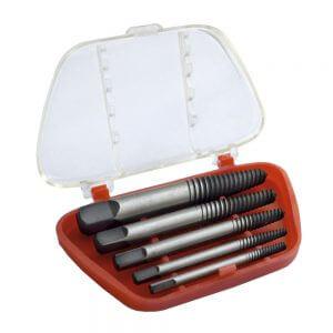 Набор экстракторов для выкручивания шпилек и болтов WDK-65718