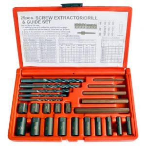 WDK-65295 набор экстракторов и шпильковертов WiederKraft (25 пр.)