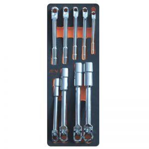 Комплект Г-образных проходных ключей CUSTOR PRO-8 (9 шт.)