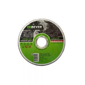 Отрезные диски по нержавеющей стали DEBEVER 115 мм
