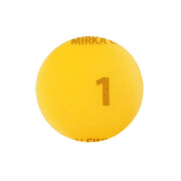 Шлифовальные круги MIRKA GOLDEN FINISH №1 77 мм