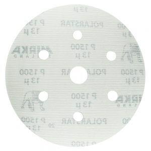 Шлифовальные круги MIRKA POLARSTAR 150 мм, 6+1 отв.