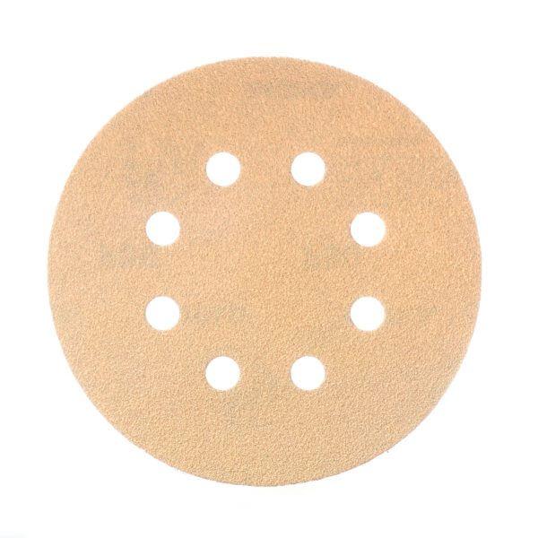 Шлифовальные круги MIRKA GOLD 125 мм, 8 отверстий