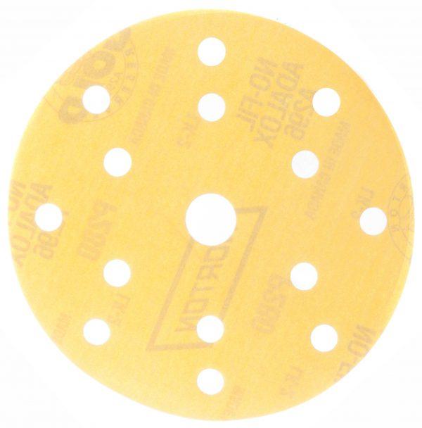 Шлифовальные круги NORTON A296 GOLD RESERVE 150 мм, 15 отв.