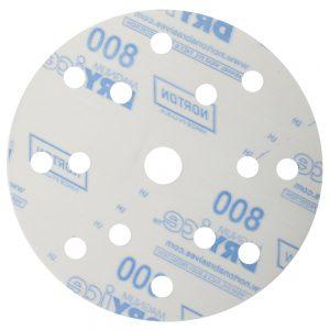 Шлифовальные круги NORTON Q260 DRY ICE 150 мм, 15 отв