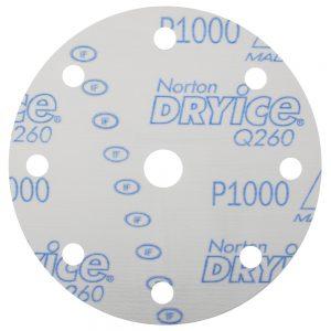 Шлифовальные круги NORTON Q260 DRY ICE 150 мм, 8+1 отв.