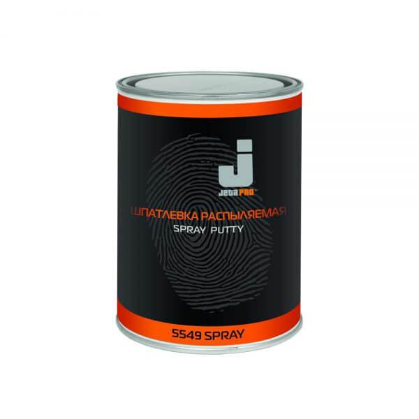 Шпатлевка распыляемая JETA PRO SPRAY (1,2 кг) + отвердитель