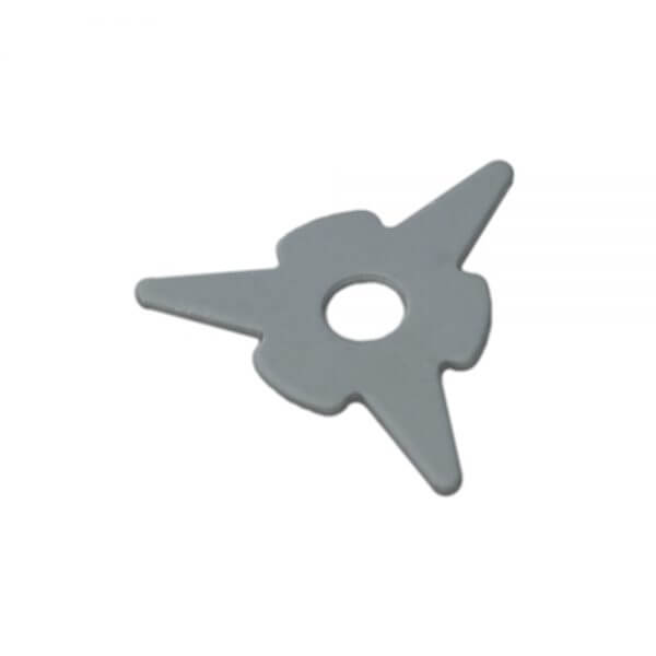 Треугольные приварочные шайбы Wiederkraft F015 (10 шт.)