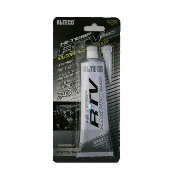 Высокотемпературный герметик для прокладок ALTECO (85 г), серый