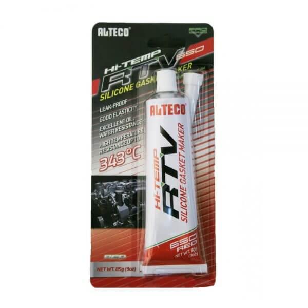 Высокотемпературный герметик для прокладок ALTECO (85 г), красный