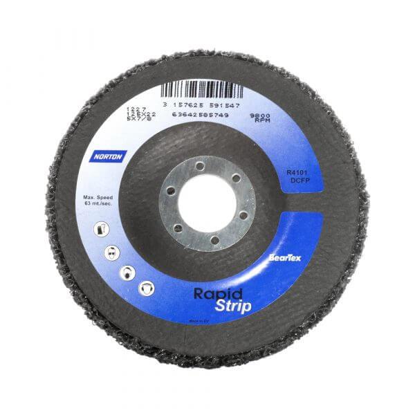Зачистной STRIP-диск NORTON RSF 125 х 22 мм