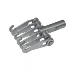 Захват с 6-ю крюками для обратного молотка Wiederkraft F014
