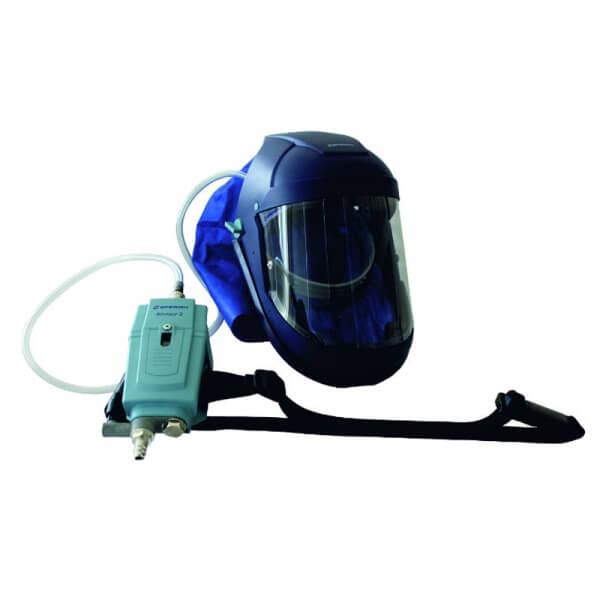 Защитная маска-шлем с активной вентиляцией Walmec 50400/W