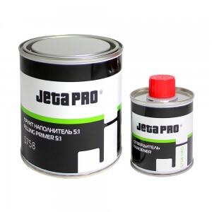 Акриловые грунты-наполнители JETA PRO ACRYL FILLING PRIMER 5758 (0,8 л) + отвердитель (0,16 л)