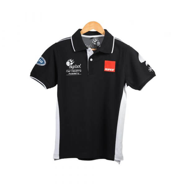 Черные рубашки-поло RUPES BIG FOOT