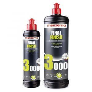 Финишные полировальные пасты Menzerna FF 3000