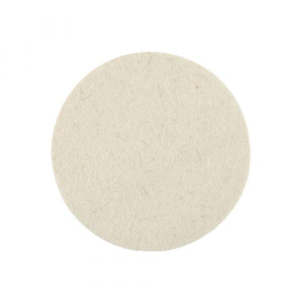 Жесткий фетровый полировальный диск MIRKA 125 мм цвет белый