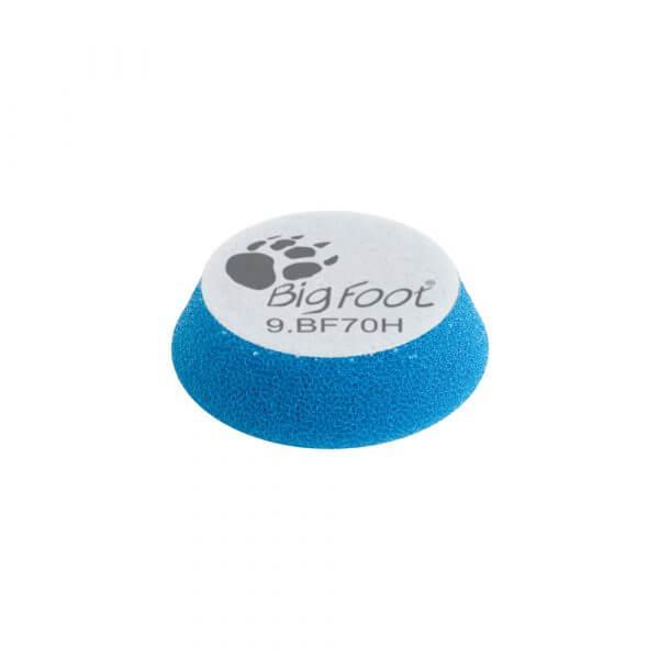 Жесткий поролоновый полировальный диск RUPES 70 мм синий