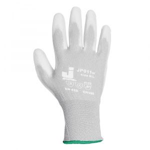 Защитные перчатки JETA SAFETY JP011w (белые, серые)