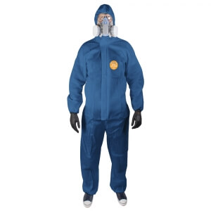 Комбинезоны защитные ZVG Tritex Pro синего цвета