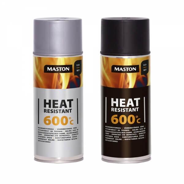 Краски термостойкие Maston 600°C (0,4 л)