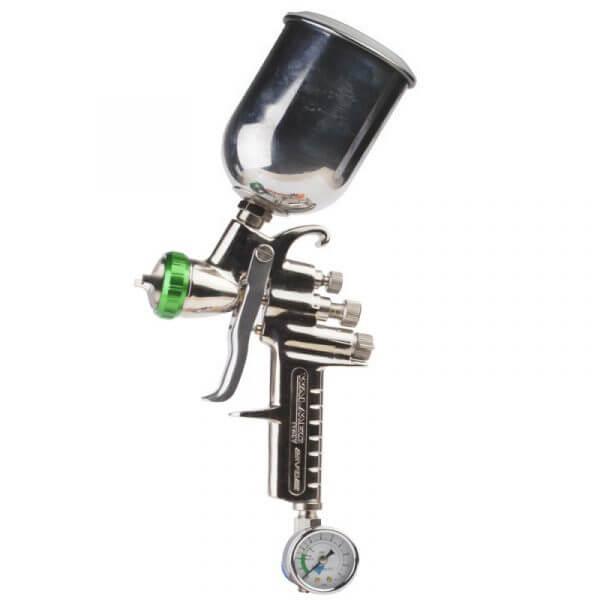 Краскопульт с алюминиевым бачком Asturomec 9011 HVLP (AL), сопло 1,5 мм