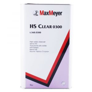 Лак MaxMeyer HS CLEAR 0300 (5 л)