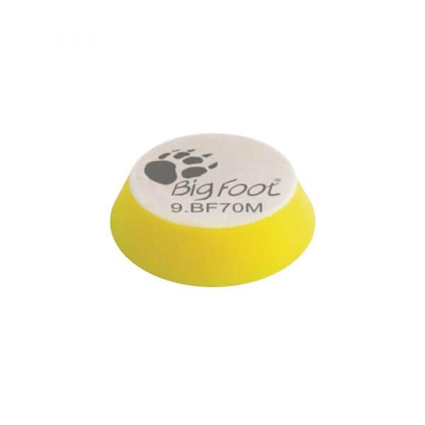 Мягкий поролоновый полировальный диск RUPES 70 мм желтый