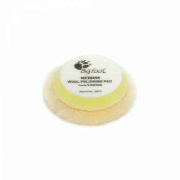 Мягкий полировальный диск из натуральной овчины RUPES 65 мм